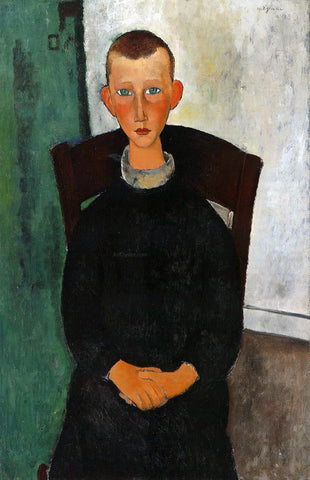 Amedeo Modigliani The Son of the Concierge - Hand Painted Oil Painting