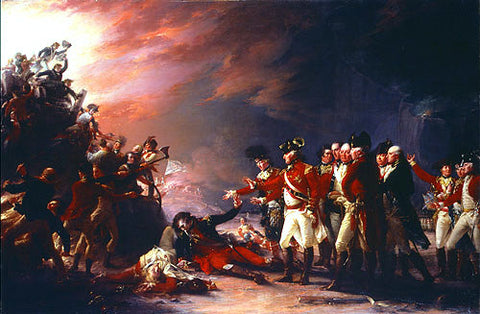 John Trumbull The Sortie Made by the Garrison of Gibraltar - Hand Painted Oil Painting