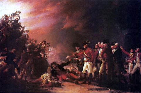 John Trumbull The Sortie Made by the Garrison of Gibralter - Hand Painted Oil Painting