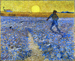 Vincent Van Gogh The Sower (also known as Sower with Setting Sun) - Hand Painted Oil Painting