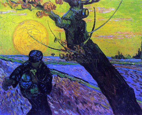 Vincent Van Gogh The Sower - Hand Painted Oil Painting