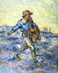 Vincent Van Gogh The Sower (after Millet) - Hand Painted Oil Painting