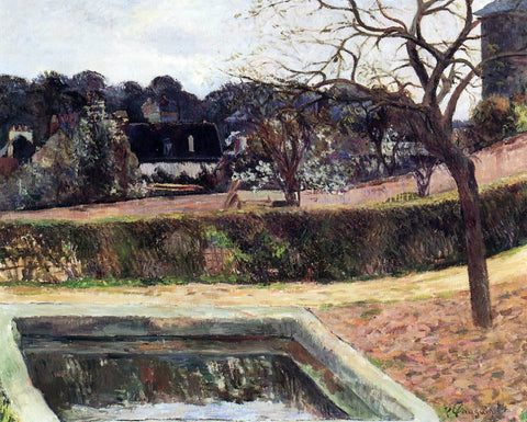 Paul Gauguin The Square Basin (also known as Pond) - Hand Painted Oil Painting