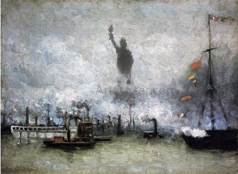 Francis Hopkinson Smith The Statue of Liberty - Hand Painted Oil Painting