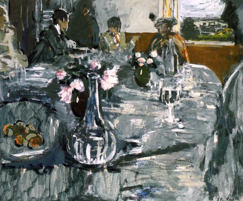 Edouard Vuillard The Table - Hand Painted Oil Painting