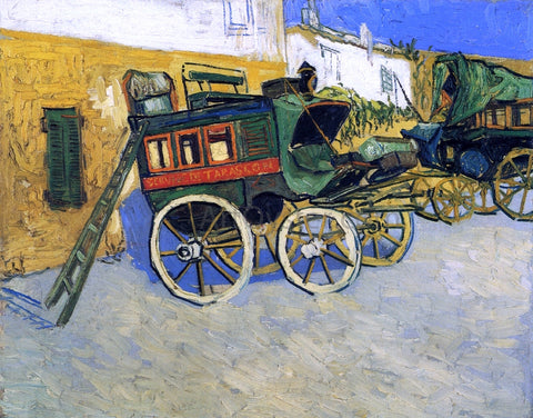 Vincent Van Gogh The Tarascon Diligence - Hand Painted Oil Painting