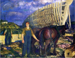 George Wesley Bellows The Teamster - Hand Painted Oil Painting