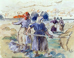 Camille Pissarro The Tedders - Hand Painted Oil Painting