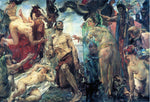 Lovis Corinth The Temptation of Saint Anthony (after Gustave Flaubert) - Hand Painted Oil Painting