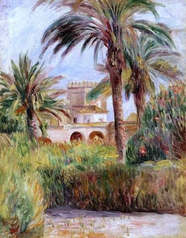 Pierre Auguste Renoir The Test Garden in Algiers - Hand Painted Oil Painting
