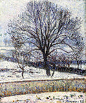 Camille Pissarro The Thaw, Eragny - Hand Painted Oil Painting