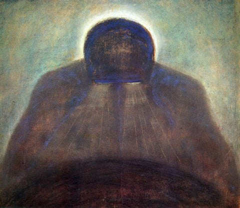 Mikalojus Ciurlionis The Thought - Hand Painted Oil Painting