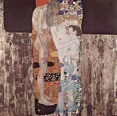 Gustav Klimt The Three Ages of Woman - Hand Painted Oil Painting