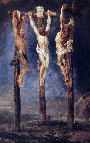 Peter Paul Rubens The Three Crosses - Hand Painted Oil Painting