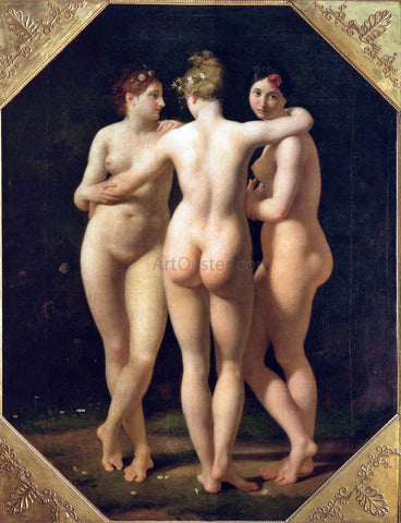 Jean-Baptiste Regnault The Three Graces - Hand Painted Oil Painting