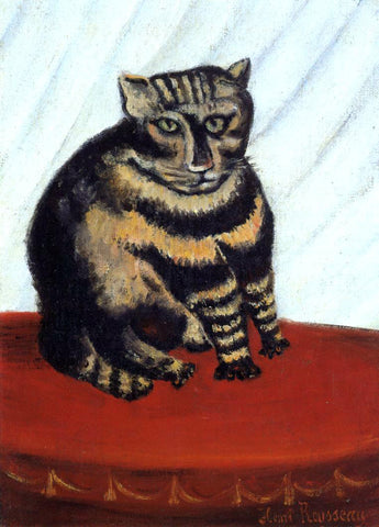 Henri Rousseau The Tiger Cat - Hand Painted Oil Painting