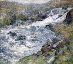 John Twachtman The Torrent - Hand Painted Oil Painting