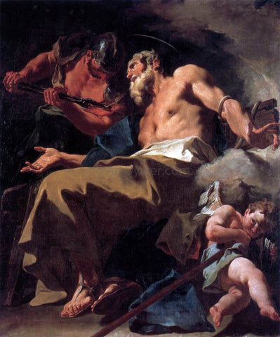 Giambattista Pittoni The Torture of St Thomas - Hand Painted Oil Painting