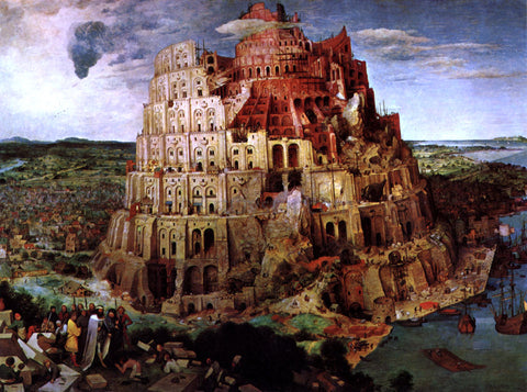 The Elder Pieter Bruegel The Tower of Babel - Hand Painted Oil Painting