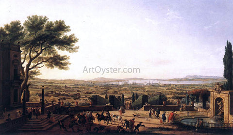 Claude-Joseph Vernet The Town and Harbour of Toulon - Hand Painted Oil Painting