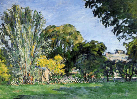 Paul Cezanne The Trees of Jas de Bouffan - Hand Painted Oil Painting