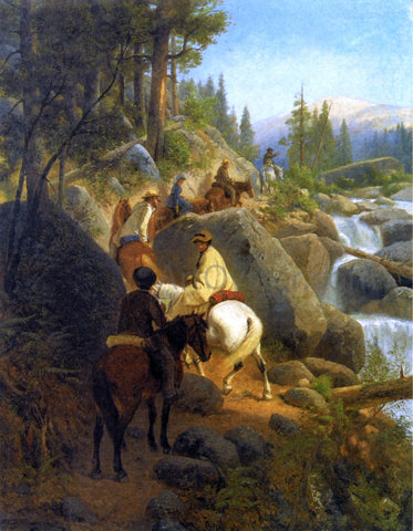 William Hahn The Trip to Glacier Point (also known as The Excursion Party) - Hand Painted Oil Painting