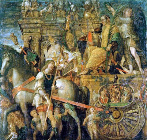 Andrea Mantegna The Triumphs of Caesar - Hand Painted Oil Painting
