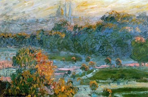 Claude Oscar Monet The Tuileries (study) - Hand Painted Oil Painting