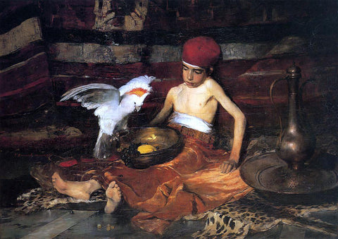 Frank Duveneck The Turkish Page - Hand Painted Oil Painting