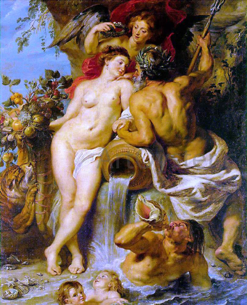 Peter Paul Rubens The Union of Earth and Water - Hand Painted Oil Painting