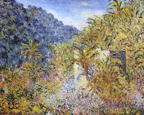 Claude Oscar Monet The Valley of Sasso - Hand Painted Oil Painting