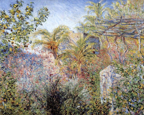 Claude Oscar Monet The Valley of Sasso, Bordighera - Hand Painted Oil Painting