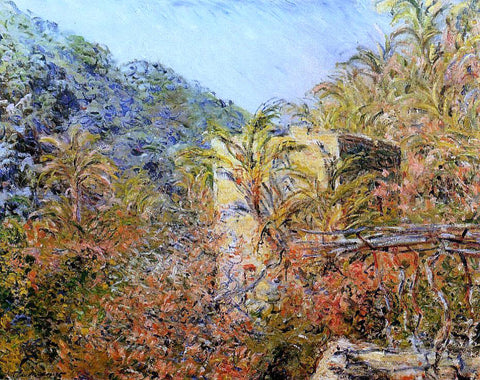 Claude Oscar Monet The Valley of Sasso, Sunshine - Hand Painted Oil Painting