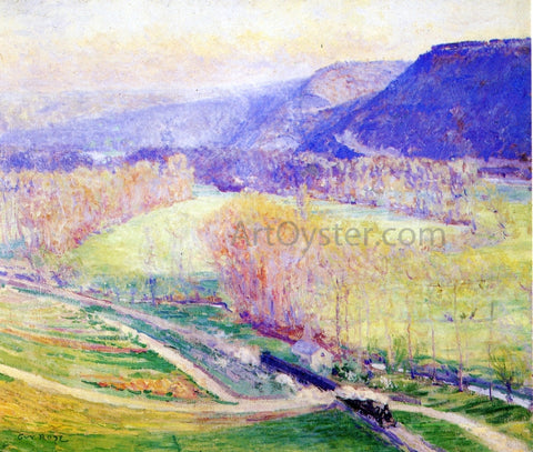 Guy Orlando Rose The Valley of the Seine - Hand Painted Oil Painting