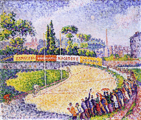Paul Signac The Velodrome - Hand Painted Oil Painting