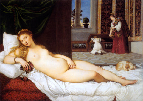 Titian The Venus of Urbino - Hand Painted Oil Painting