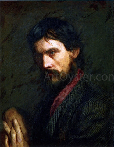 Thomas Eakins The Veteran (also known as Portrait of Geo. Reynolds) - Hand Painted Oil Painting