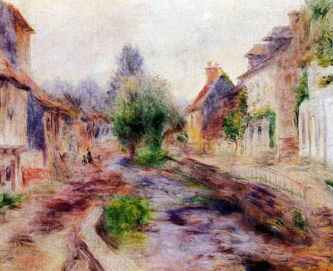 Pierre Auguste Renoir The Village - Hand Painted Oil Painting