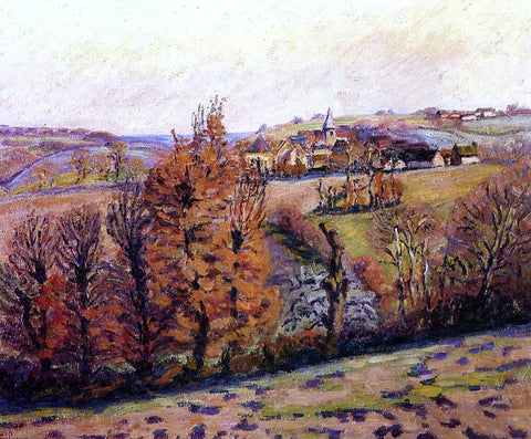 Armand Guillaumin The Village of Crozant - Hand Painted Oil Painting