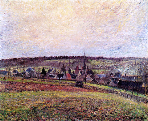 Camille Pissarro The Village of Eragny - Hand Painted Oil Painting