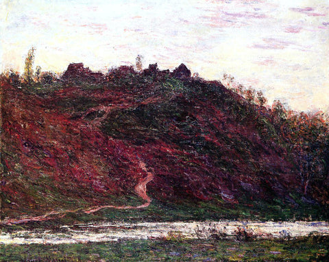 Claude Oscar Monet The Village of La Coche-Blond, Evening - Hand Painted Oil Painting