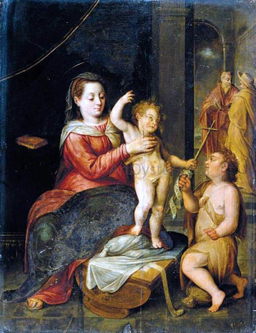 Bernaert De Ryckere The Virgin and Child - Hand Painted Oil Painting