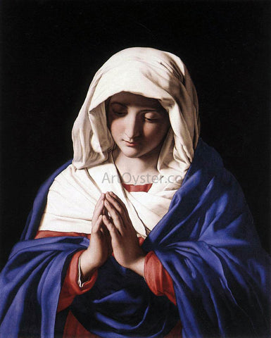 Sassoferrato The Virgin in Prayer - Hand Painted Oil Painting
