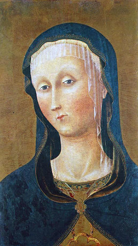 Pietro Di Giovanni d'Ambrogio The Virgin Mary - Hand Painted Oil Painting