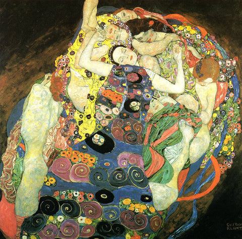 Gustav Klimt A Virgin - Hand Painted Oil Painting