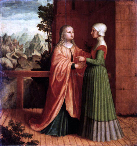 Master ab Monogram The Visitation - Hand Painted Oil Painting