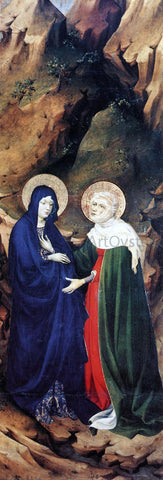 Melchior Broederlam The Visitation - Hand Painted Oil Painting