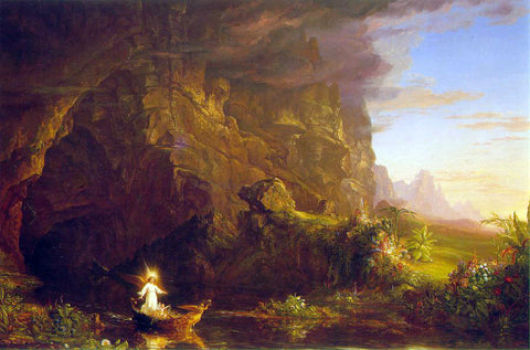 Thomas Cole The Voyage of Life: Childhood - Hand Painted Oil Painting