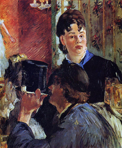 Edouard Manet The Waitress (also known as The Beer Serving Girl) - Hand Painted Oil Painting