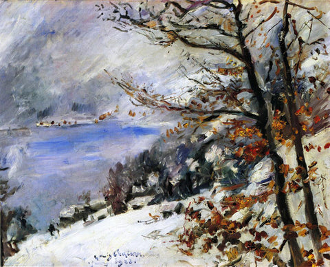 Lovis Corinth The Walchensee in Winter - Hand Painted Oil Painting